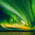 091015, Abisko, Tornetrask, Aurora, Aurora Borealis, Norrsken, Northern Lights, Photo: ©Rostam Zandi.